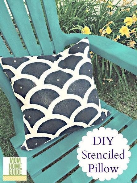 how to easily create outdoor accent pillows, crafts, diy, home decor, how to, painting