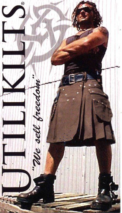 Corset and kilt man - Google Search