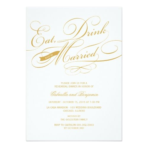 formal dinner party invitation