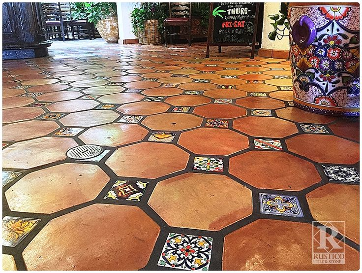 octagon mexican saltillo tile