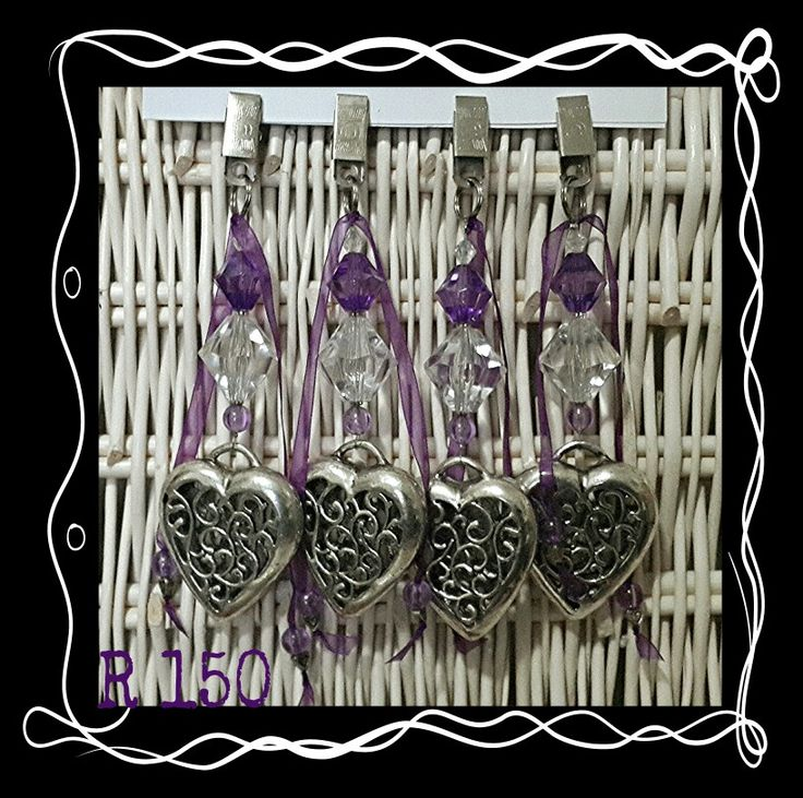 Purple Tablecloth Weights