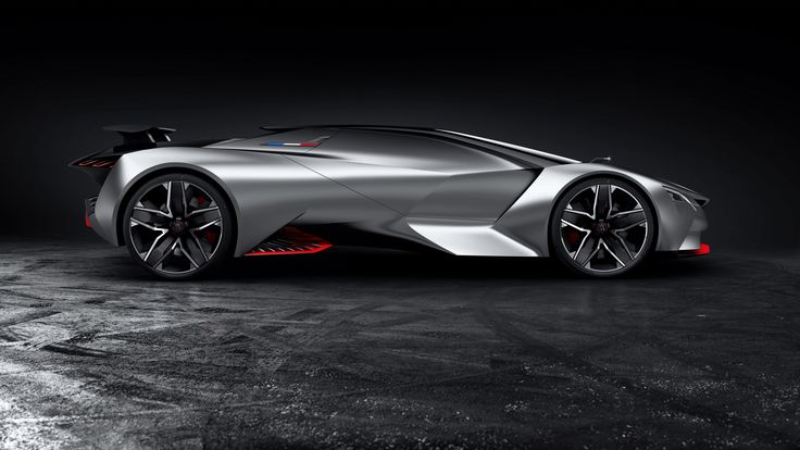 General X Vehicle Sports Car Peugeot Vision Gran Turismo