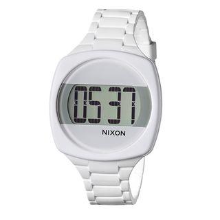 Nixon Women's 'The Dash' White Digital Watch