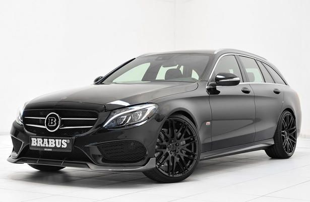 Brabus Mercedes C Class Estate Powerkit And Body Kit