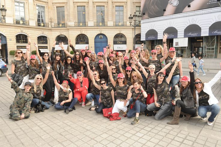 70 women from the worlds of fashion, music and entertainment took part in the Cash and Rocket 2015 tour.