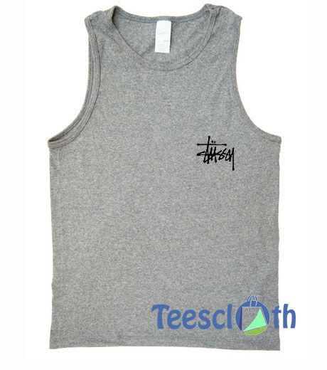 6752859d111a5 Stussy Logo Tank Top Men And Women Size S to 3XL