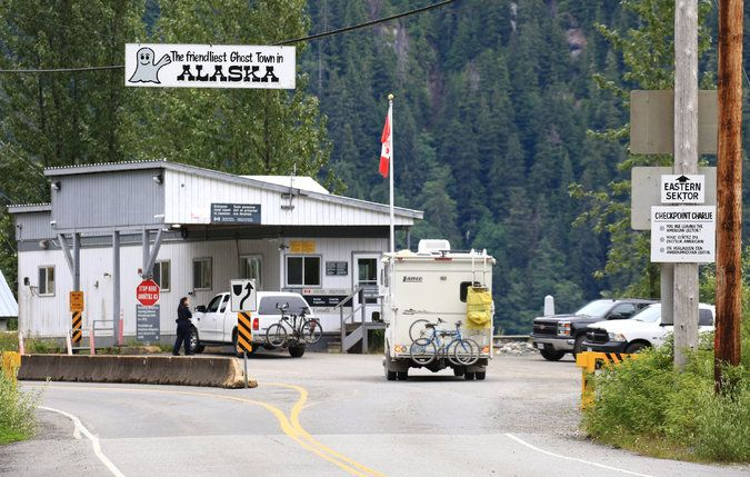 The people of Hyder, Alaska, have created a world apart from much of the United States, largely fending for themselves. But they rely on their British Columbian neighbors for many things.