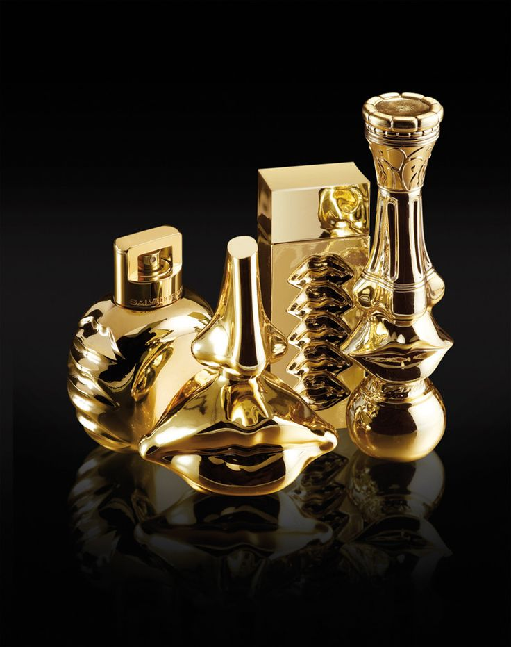 """THE DALI FABULOUS COLLECTION.  """"Dali le Parfum"""" was the first artist's fragrance. It was created in 1983 by Salvador Dali who, in both the shape of the now iconic bottle, and in the scents, left his mark on this creation, inspired by his painting entitled """"Apparition of the Visage of Aphrodite of Cnide in a Landscape."""""""