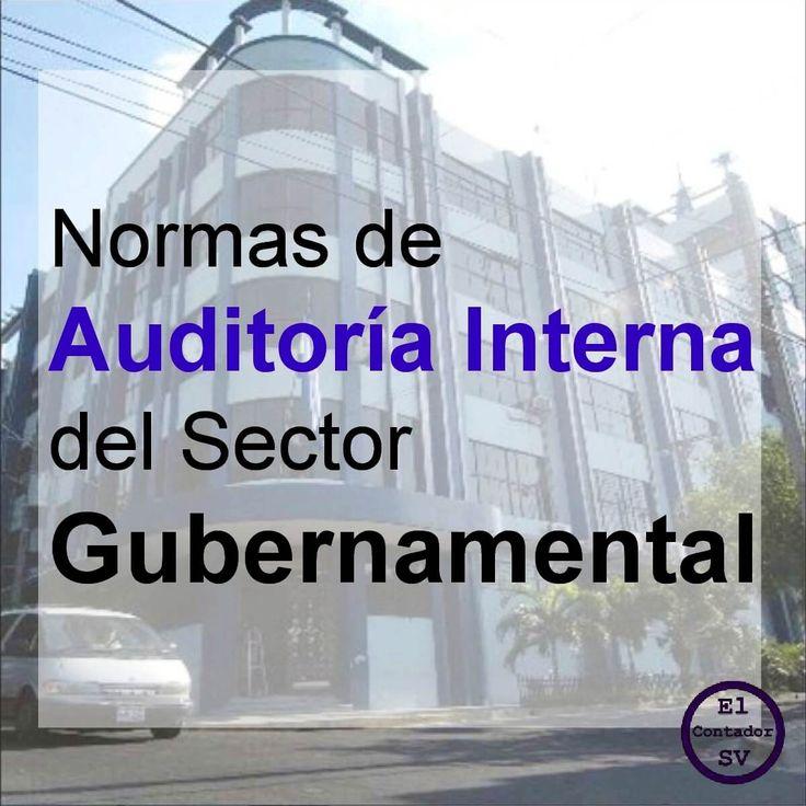 Las Normas de Auditoria Interna Gubernamental son de cumplimiento obligatorio para la práctica profesional de la auditoría gubernamental