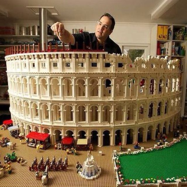 Lego Rome wasn't built in a day.