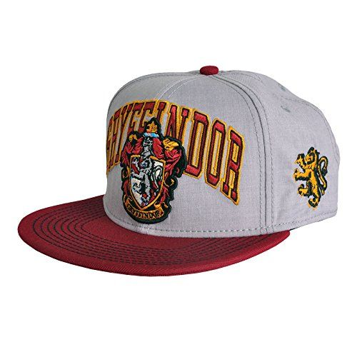 buy now   									£23.05 									  									Harry Potter Gryffindor Snapback Cap Baseball Cap with Logo Red, Licensed Harry Potter Snapback cap, Sewn-on Gryffindor logom With snapback logo on the visor, Adjustable strap with  ...Read More