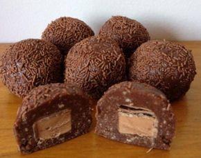 Τρουφάκια+με+σοκολάτα+Mars+με+5+υλικά
