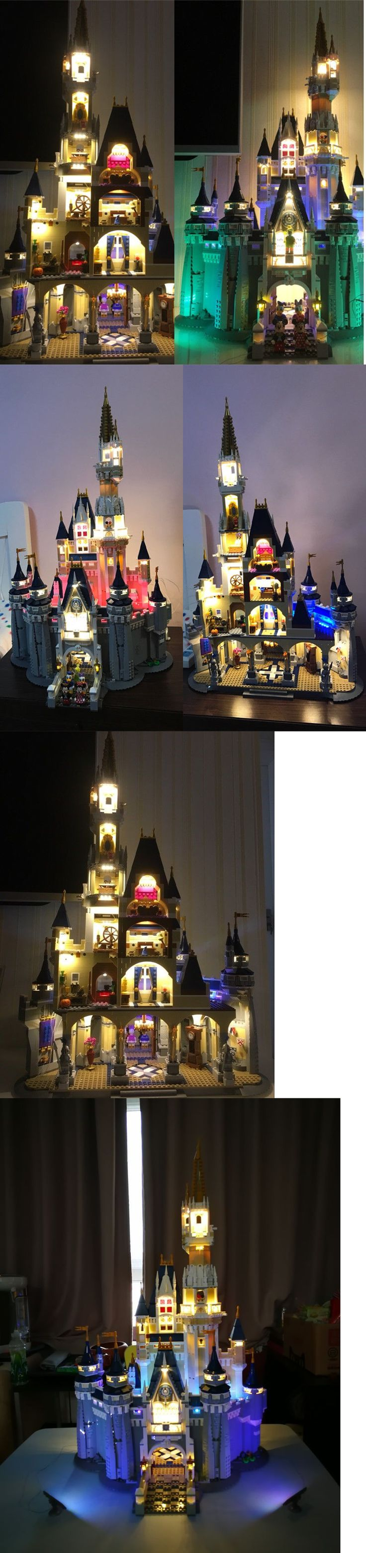 LEGO Branded Storage 183450: New Led Light Kit For Lego Disney Castle 71040 Usb Powered 2017 -> BUY IT NOW ONLY: $155.55 on eBay!