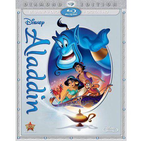Aladdin: Diamond Edition (Blu-ray + DVD + Digital HD) (Widescreen) - Walmart.com