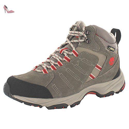 Timberland Tilton Mid GTX W, Chaussures de randonnée/trekking femme, Gris - Gris foncé, 37 EU - Chaussures timberland (*Partner-Link)