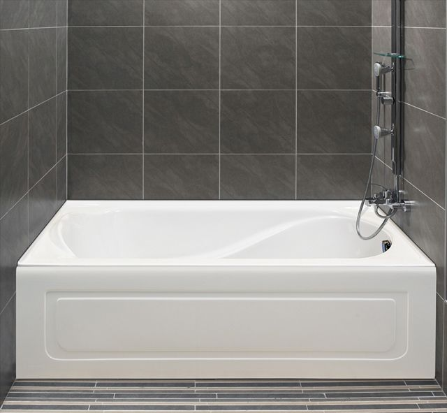 Alcove S Bathtub With Integrated Tiling Flange And