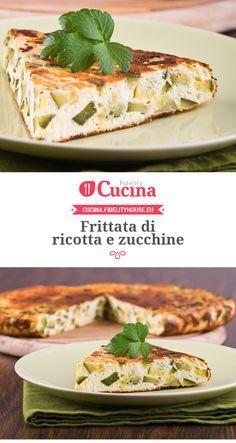#Frittata di #ricotta e #zucchine