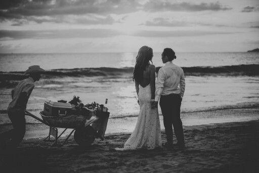 The ultimate lesbian beach wedding was my own <3