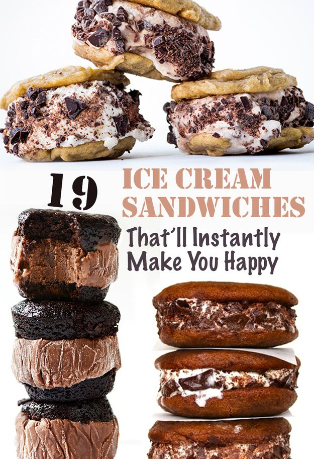 19 Delicious Ice Cream Sandwiches That'll Instantly Make You Happy