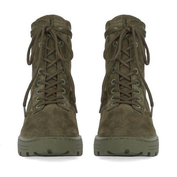 MEN'S COMBAT BOOT IN THICK SUEDE ($520) ❤ liked on Polyvore featuring men's fashion, men's shoes, men's boots, mens army boots, mens military boots, mens suede shoes, mens shoes and mens combat boots