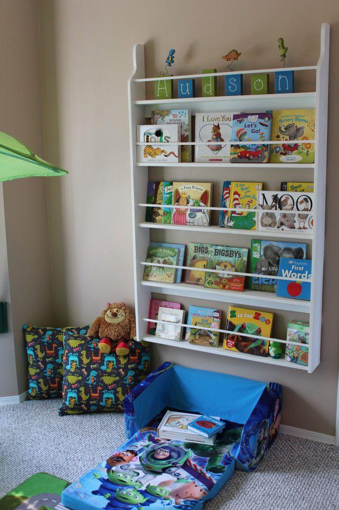 diy kids book shelf