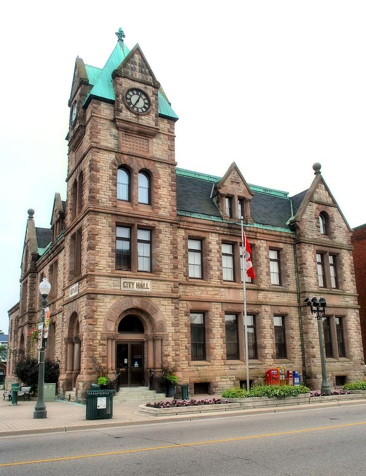 City Hall, Woodstock, Ontario