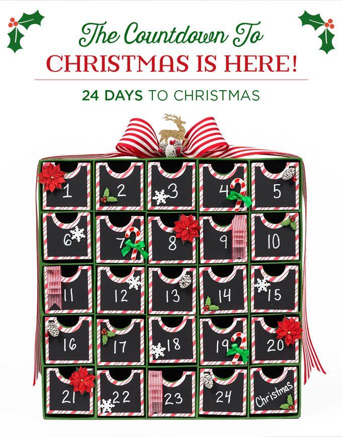 Blank Calendar Hobby Lobby : Advent coundown to christmas inspiration hobby lobby ad