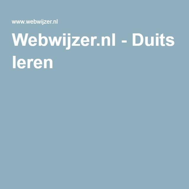 Webwijzer.nl - Duits leren