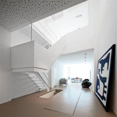 Maison privée Nuit blanche / Bureau d'architecture Anne Ledroit, Vincent Pierret et Cédric Polet / Wallonie-Bruxelles Architectures