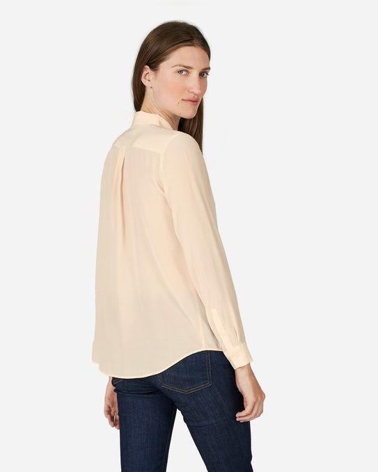 The Slim Silk Shirt - Everlane