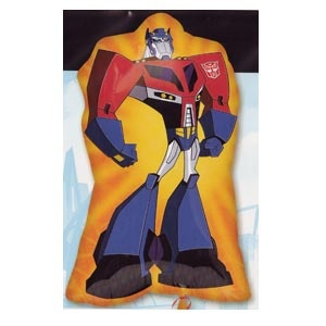 "Transformers (animated) Mylar Balloon 30"" x 18"""