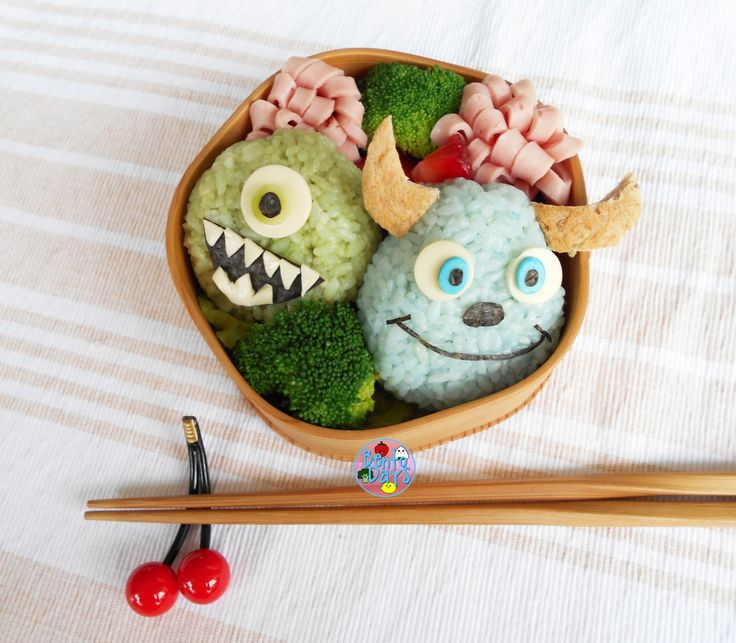 Monsters Inc Bento