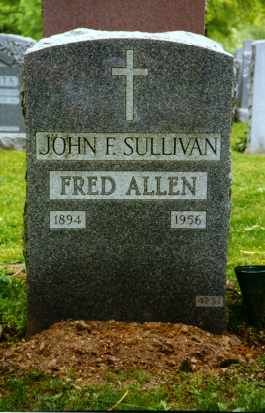 Fred Allen - American comedian whose absurdist, topically pointed radio program The Fred Allen Show (1932–1949) made him one of the most popular and forward-looking humorists in the Golden Age of American radio.