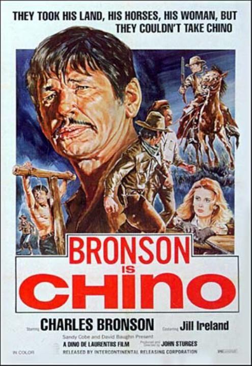 Chino (1973) Stars: Charles Bronson, Jill Ireland, Marcel Bozzuffi, Vincent Van Patten ~  Directors: John Sturges, Duilio Coletti