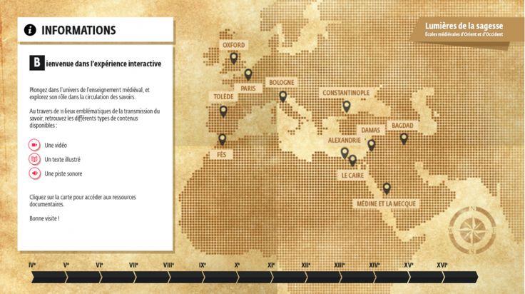 Webdoc de l'IMA : Lumières de la sagesse | Bienvenue à l'Institut du monde arabe à Paris