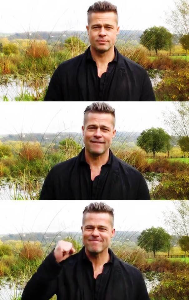 Brad Pitt | Morning motivation!
