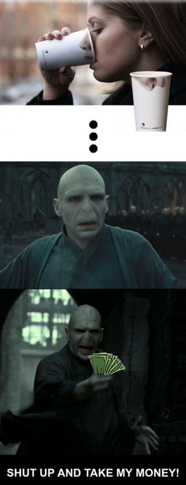Voldemort seriously needs one of those…