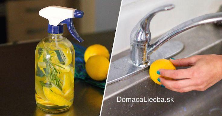 Po vytlačení šťavy z citrónov vyhadzujete kôru do koša? Robíte veľkú chybu! Pozrite sa na 6 geniálnych spôsobov, ako ju môžete ďalej využiť.