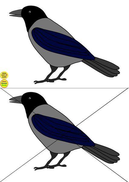 Разрезные картинки птица
