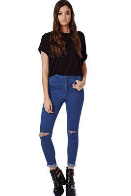 Женские рваные джинсы. Как сделать самостоятельно. С чем носить рваные джинсы.