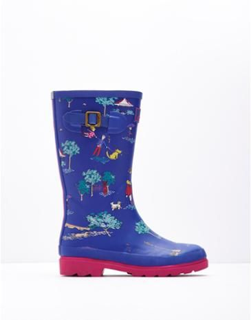 JNRGIRLSWELLYPrinted Wellies