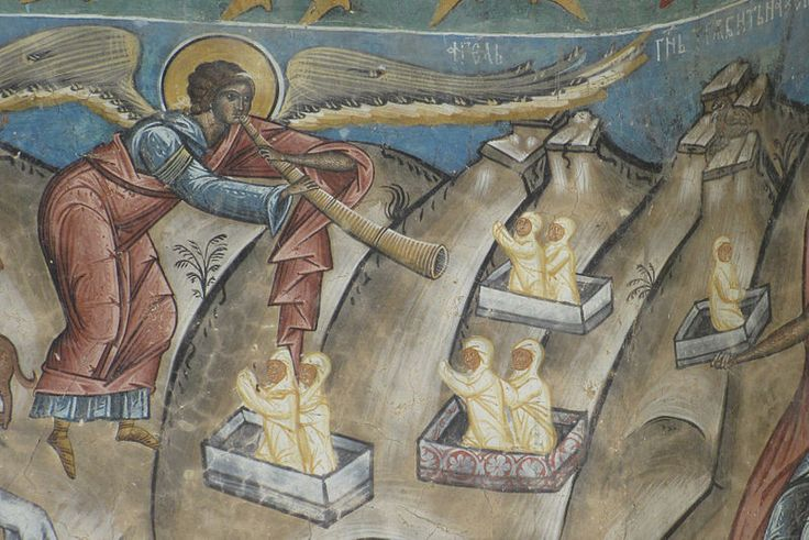 Mural from Voronet Monastery, Romania