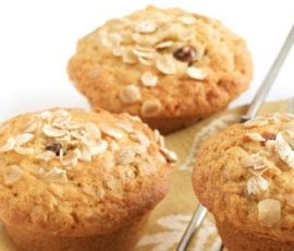 Oat, Date & Honey Muffins: High in fibre and a great alternative to cakes or biscuits, these muffins are the perfect energy-boost for active kids. http://www.bakers-corner.co.nz/recipes/muffins/oat-date-honey-muffins/