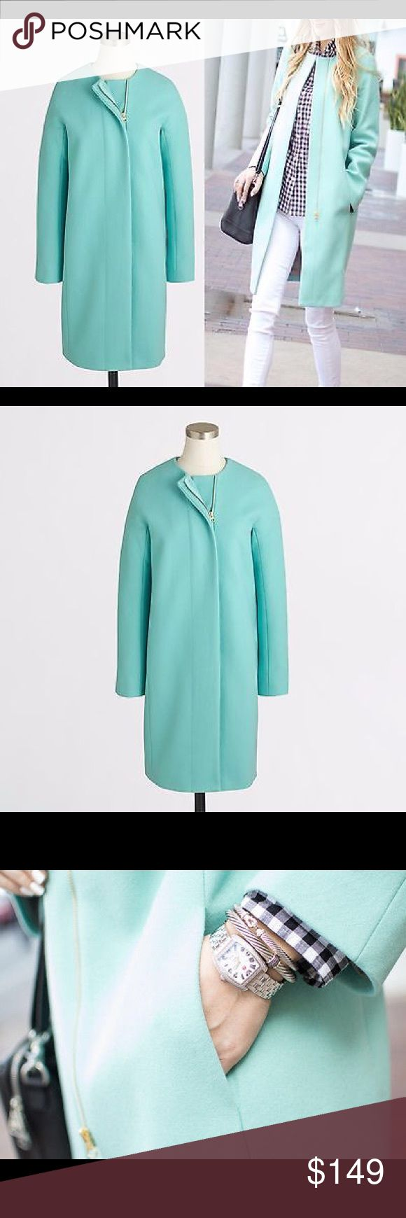 J Crew Wool coat New with tag. J crew factory wool coat J. Crew Jackets & Coats Pea Coats