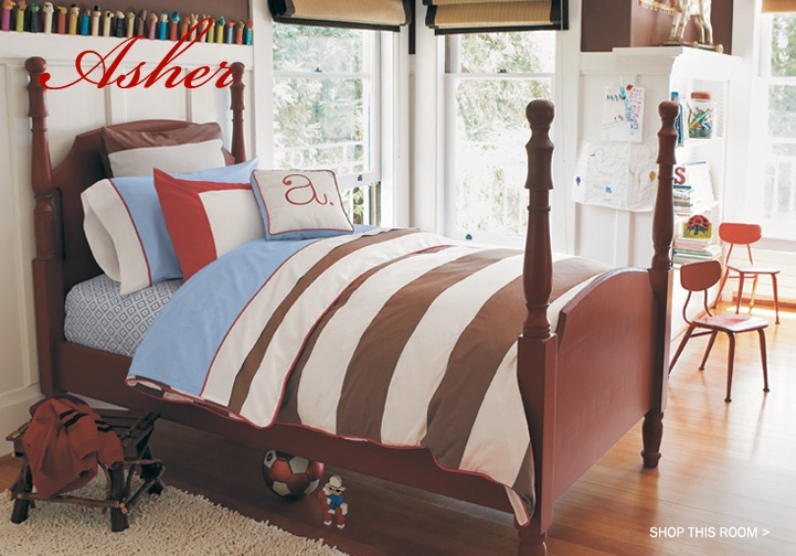 boy bedding (chase..add sports or train to it..)Romans Shades, Beds, Little Boys Room, Boys Bedrooms, Colors, Kids Room, Room Ideas, Boy Rooms, Big Boys Room