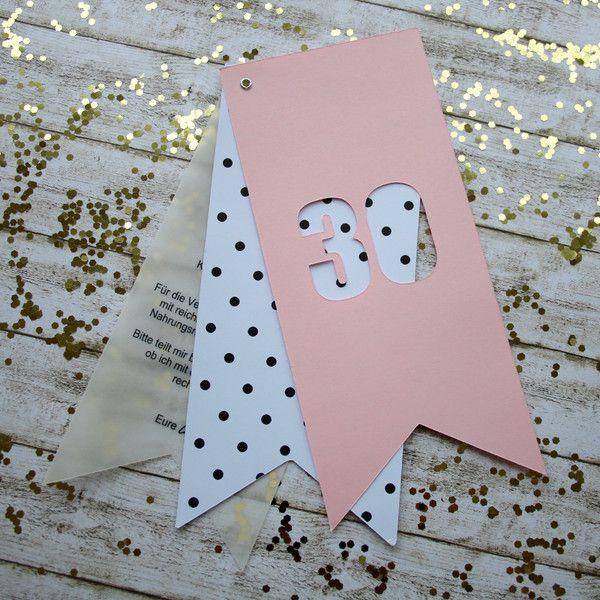 Einladungskarten+-+20+x+Einladungen+zum+Geburtstag+von+Oh+lá+lá+auf+DaWanda.com