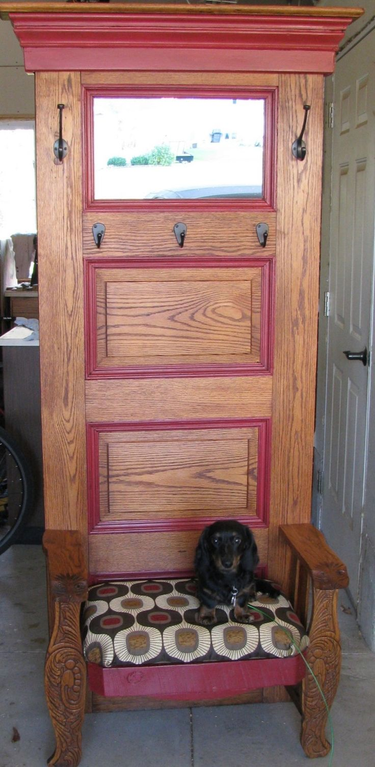 17 best images about doors repurposed on pinterest hall for Door furniture
