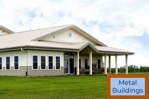 Steel Buildings And Pre Engineered Metal Building Kit Prices And Metal Buildings White Metal Building House Plans Metal House Plans Metal Building Homes
