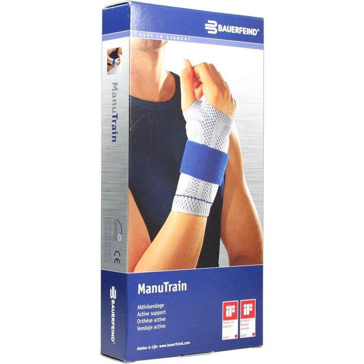 MANUTRAIN Handgelenkbandage rechts Grösse 3 natur:   Packungsinhalt: 1 St Bandage PZN: 01285571 Hersteller: Bauerfeind AG / Orthopädie…