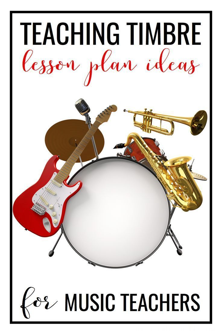 Lesson ideas for games and centers to teach timbre in the elementary classroom.